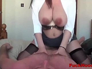 Boobs, Nipples, Stockings, Huge, Mommy, Tits, Big tits