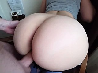 Ass, Doggystyle, Old, Pussy, Teen, Leggings, Bent over